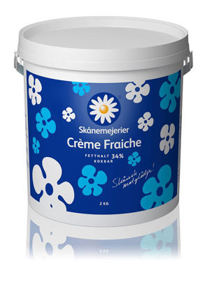 Picture of CREME FRAICHE 34% 2L     SKÅNE