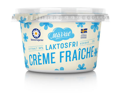 Picture of CREME FRAICH LAKTFRI 34% 8X2DL