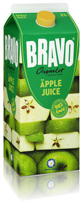 Picture of JUICE BRAVO ÄPPLE 6X2L     SKM