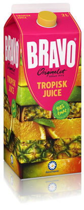 Picture of JUICE BRAVO TROPISK 6X2L   SKM