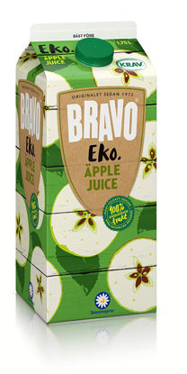 Picture of JUICE BRAVO ÄPPLE KRAV 6X1,75L