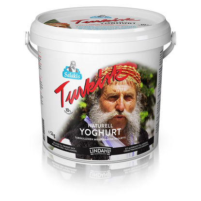 Picture of YOGHURT TURKISK 10% 5KG LINDAH