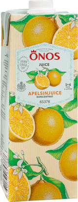 Picture of APELSINJUICE KONC 1+4 8X1L ÖNO