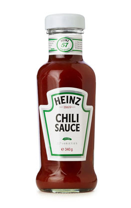 Picture of CHILI SAUCE 12X340G      HEINZ