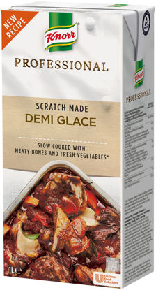 Picture of DEMI GLACE 8X1L          KNORR
