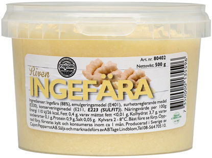 Picture of INGEFÄRA RIVEN 4X500G    CAJOM