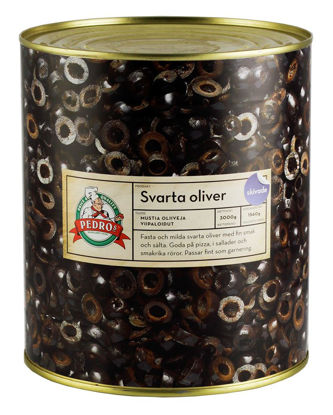 Picture of OLIVER SVARTA SKIVADE 6X3,1KG