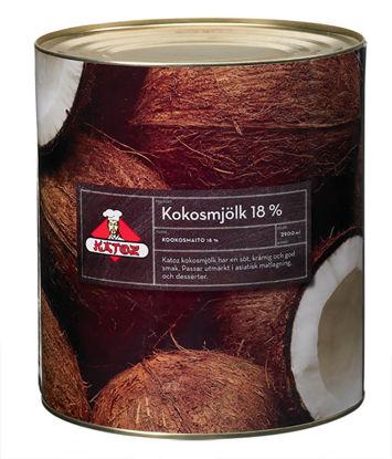 Picture of KOKOSMJÖLK 18% 6X2,9L    KATOZ