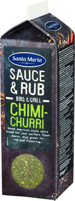 Picture of BBQ SAUCE RUB CHIMICHUR 6X350G