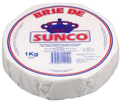 Picture of BRIE DE SUNCO 32% 4X1KG