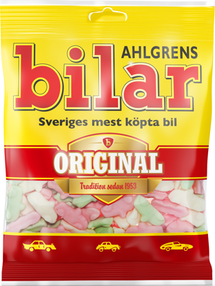Picture of AHLGRENS BILAR 42X125G