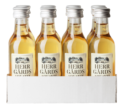 Picture of HERRGÅRDS AQUAVIT 12X5CL 40%