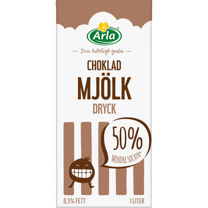Picture of CHOKLADMJÖLK 12X1L        ARLA