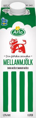Picture of MJÖLK MELLAN 1,5% 6X1L