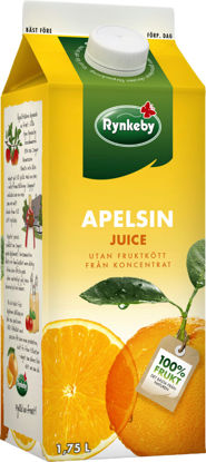 Picture of JUICE APELSIN RYNKEBY 6X1,75L