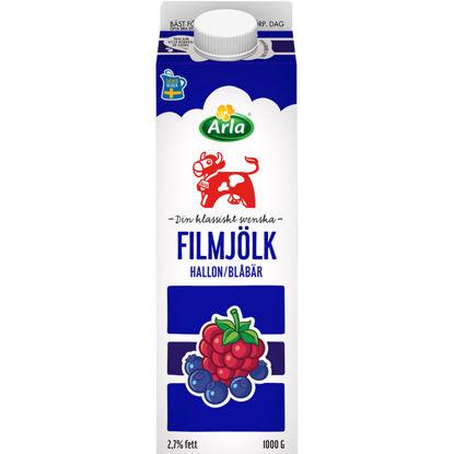 Picture of FILMJÖLK BLÅBÄ/HALLON 6X1L