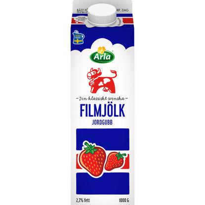 Picture of FILMJÖLK JORDGUBB 6X1L