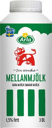 Picture of MJÖLK MELLAN 1,5% 12X3DL
