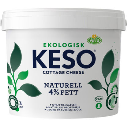 Picture of COTTAGE CHEESE 4% EKO 3KG