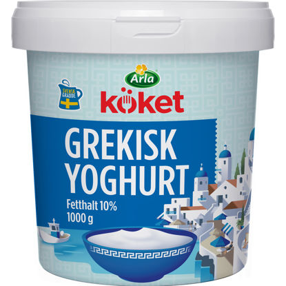 Picture of YOGHURT GREKISK 6X1 KG