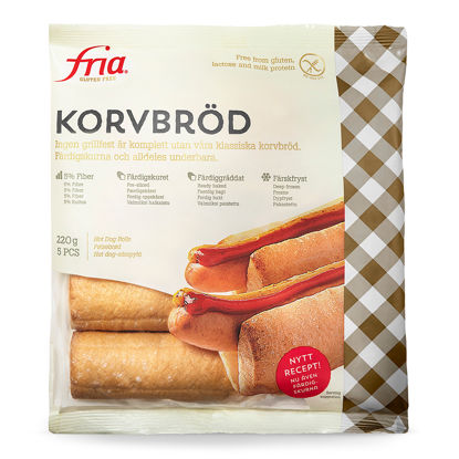 Picture of KORVBRÖD GLF  40X44G FRIA