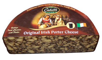 Picture of CHEDDAR IRISH PORTER 2,3KG CAH