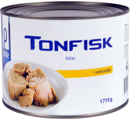 Picture of TONFISK I OLJA BITAR 6X1,715KG