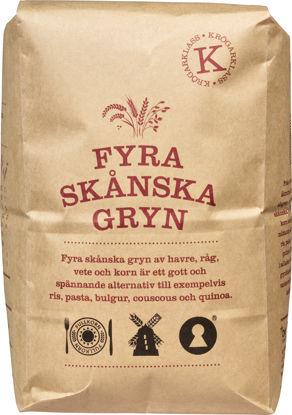 Picture of FYRA SKÅNSKA GRYN 2KG KRÖGARKL