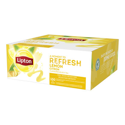 Picture of TE LEMON S-P 12X100ST   LIPTON