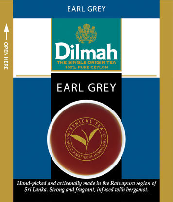 Picture of TE EARL GREY 100ST      DILMAH