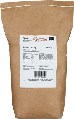 Picture of BULGUR KRAV 2,5KG S-K