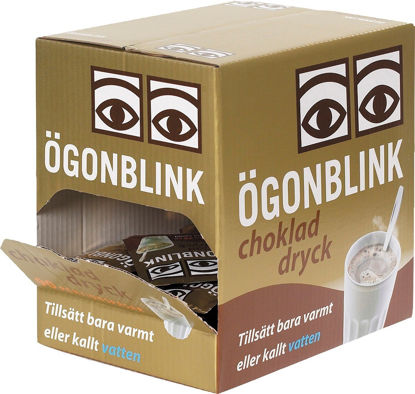Picture of CHOKLAD SNABB ÖGONBLINK 90X30G