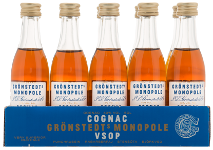 Picture of GRÖNSTEDTS VSOP 10X5CL