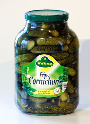 Picture of CORNICHONS 4X2450G       KUHNE