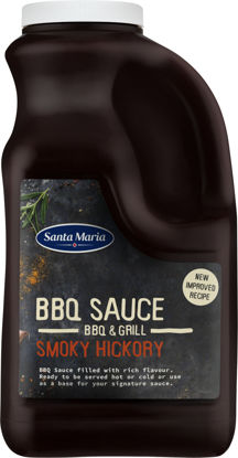 Picture of BBQ SAUCE SMO HICKORY 4X2,56KG