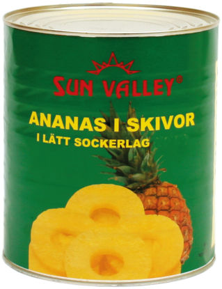 Picture of ANANAS SKIVOR LS 24X850G   GGH