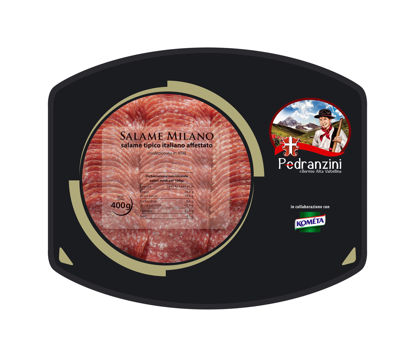 Picture of SALAMI MILANO SKIVAD 10x400G