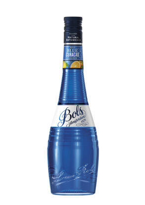 Picture of BOLS BLUE CURACAO 21%   6X50CL