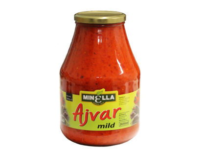 Picture of AJVAR RELISH MILD 6X2,6KG MINE