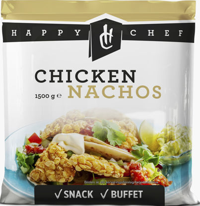 Picture of CHICKEN NACHOS 6X1,5KG HAPPY C