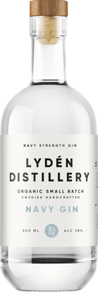 Picture of NAVY GIN EKO LYDEN 58% 6X50CL