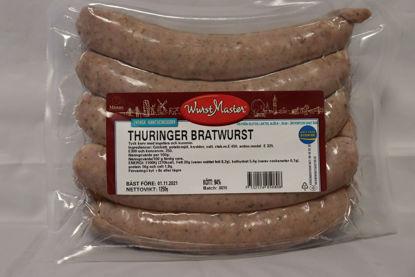 Picture of BRATWURST THURINGER125G 4X1,25